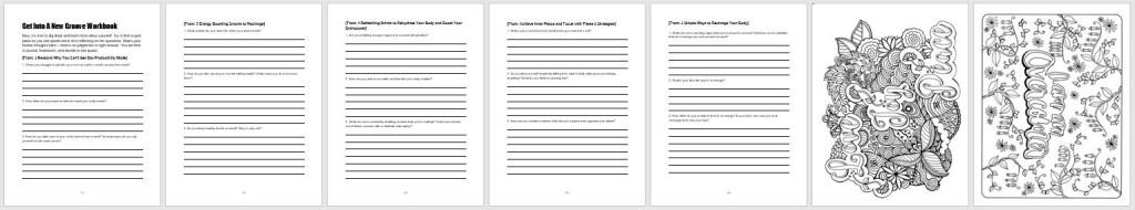 printable workbook
