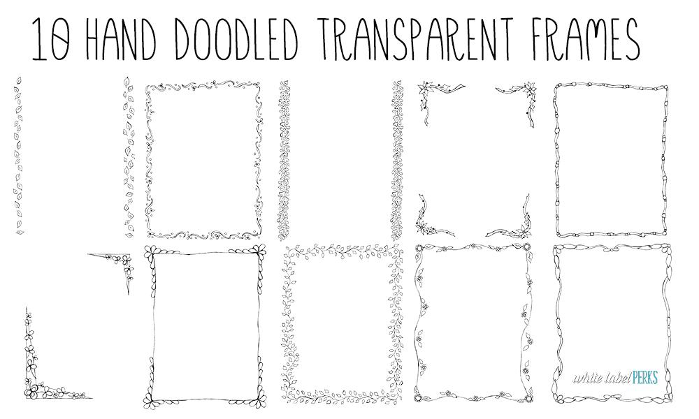 10-hand-doodled-transparent-frames
