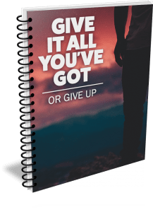 [MINI] Give It All You've Got or Give Up