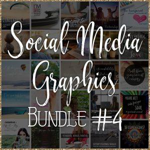 Social Media Quote Graphics: Bundle #4