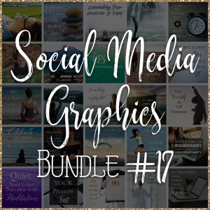 Social Media Quote Graphics: Bundle #17