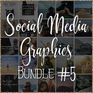 Social Media Quote Graphics: Bundle #5