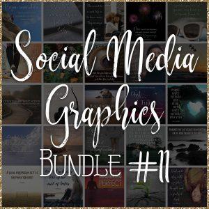 Social Media Quote Graphics: Bundle #11