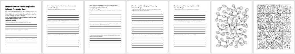 Printable Workbook