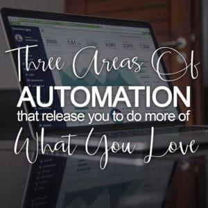 [MINI] Three Areas Of Automation