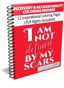 Recovery & Accountability Coloring Designs